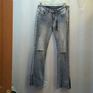 Grace jeans with metal on the sides